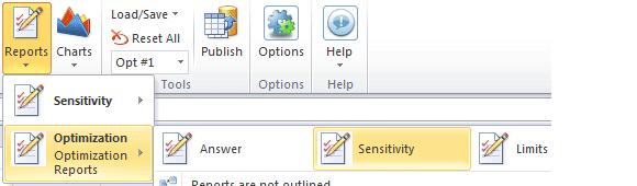 informe sensibilidad premium solver pro